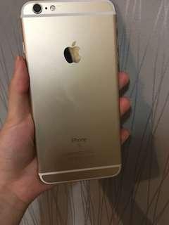 IPhone 6s Plus 128gb gold 金色 港版zp