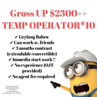 Temp Operator