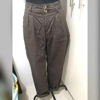 REPRICED! H&M Khaki Pants (High Waist)