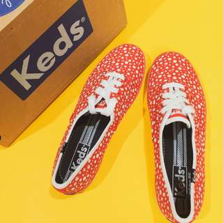 Keds Red Dots