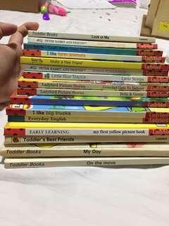 Ladybird kindergarten books
