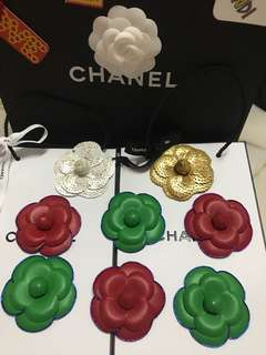 Chanel 3D flower sticker