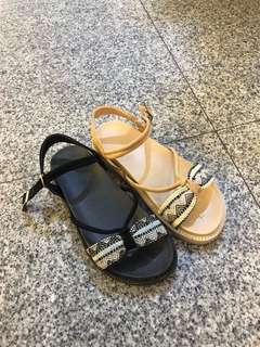🚚 #女款平底防水涼鞋 👉👉2色36.37.38.39.40 $390