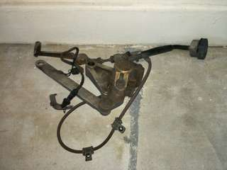 Nissin Rear Brakes c/w Steel Braided Hose | CB400 SuperFour Spec1