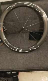 HED carbon front wheel