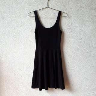 COTTON ON SLEEVELESS BLACK DRESS EXTRA SMALL