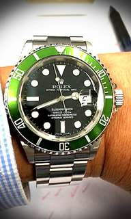 Rolex Submariner 50th Anniversary Kermit 16610LV