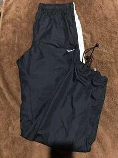 (SALE) Nike Nylon Zip Jogger Pants