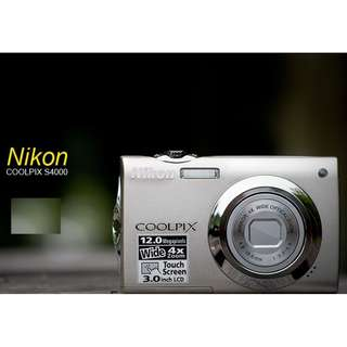 Nikon Coolpix S4000 Digital Camera (Faulty Focus)