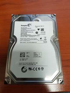 1TB Seagate PC internal SATA Hard Disk