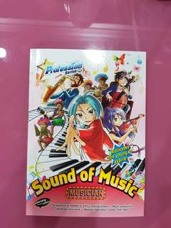 New Profession Sound of Music (musician) Learning through comic