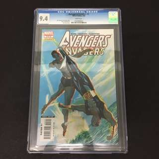 Avengers/ Invaders 3 CGC Marvel Comics Book Stan Lee Movie