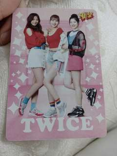 Twice Yes Card( 夜光)