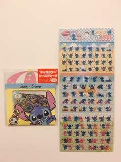 (日本) Stitch 史迪仔貼紙