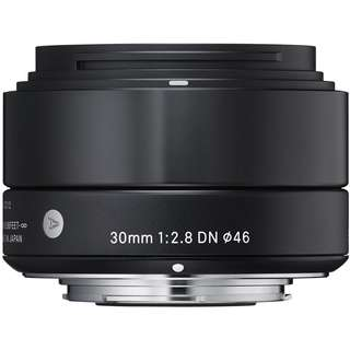 Sigma 30mm f/2.8 DN Lens for Sony E-mount Cameras (Black)