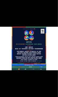 We The Fest ticket presale 1