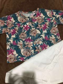 (SALE) Floral Top