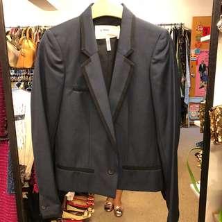 Isabel marant etoile navy jacket size 0
