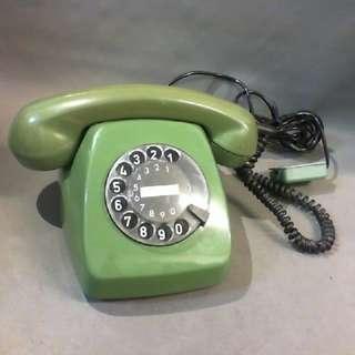 古董室內轉盤式電話機