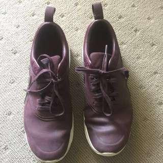 Nike Air Max Thea - Burgundy Leather