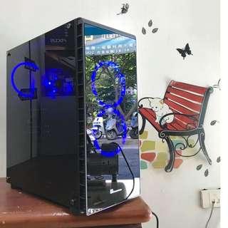 ※電電電腦※INTEL十核二十線/SSD/16G/GTX1050TI (天堂十開加助手/GTA5/鬥陣特攻) 高雄可面交/蝦皮刷卡貨到付款