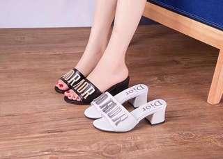 Dior Block heels
