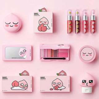 💄PO | THE FACE SHOP x KAKAO x Apeach 🍑