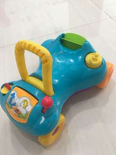 Toy car + baby walker hasbro imported