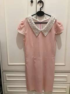 Very cute pink korean dress