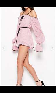 Alice McCall Playsuit pink sherbert