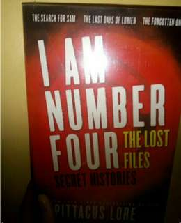 I Am Number Four Lost Files books