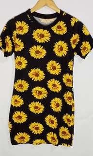 Sunflower Tshirt dress