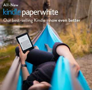 ✔Amazon Kindle Paperwhite+Free Ebooks/Pouch/Screen Protector