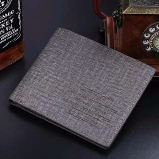 class wallet grey or blue