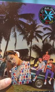 EXO-The war(private ver.)連金鍾仁小卡