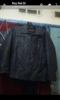 Jaket kulit oskar xl