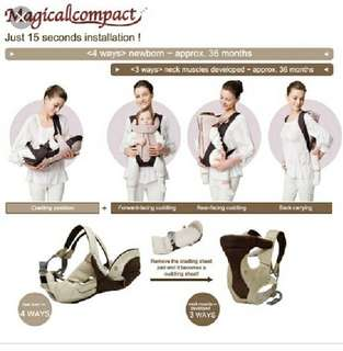 Combi Magical Compact 4合1功能揹帶