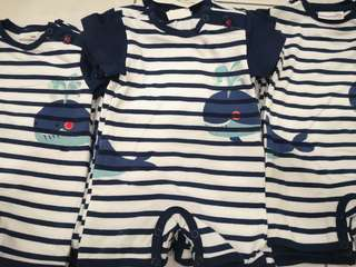 Baby boy romper READY STOCK