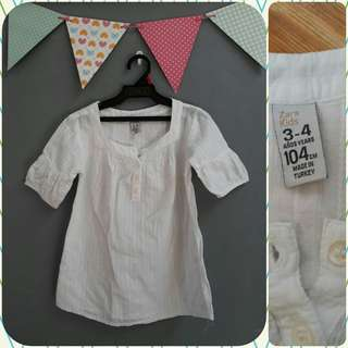 ZARA Top (3-4 yrs old)