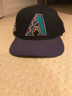 MLB Vintage 90's Arizona Diamondbacks SnapBack Hat