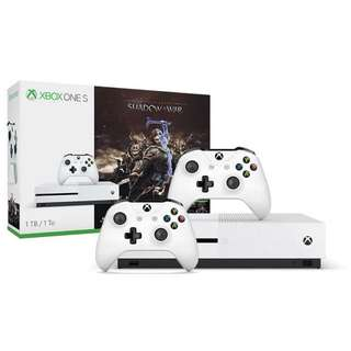 Xbox One S 1TB with 2 controllers [May 2018]