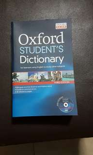 Oxford Student's Dictionary with CD- ROM