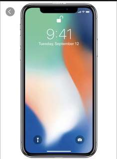 BN IPhone X 64gb space grey
