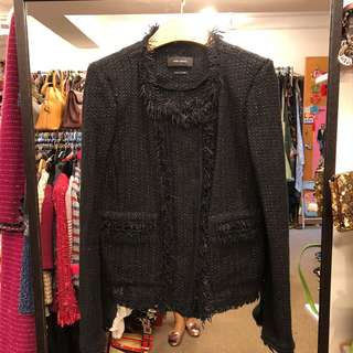 Isabel Marant black knit jacket size 36