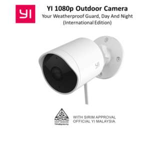 YI Outdoor Camera 1080p