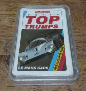 Top Trumps game card
