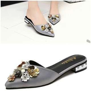 Flat Shoes Pesta Elegan-SHF6182