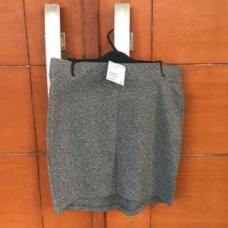 H&m bodycon grey skirt / rok