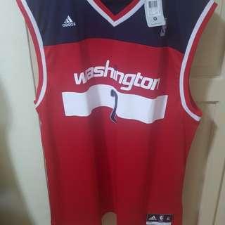 Authentic adidas Washington John Wall nba jersey