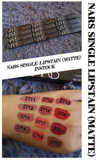 Nars lipstain 12 pcs